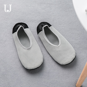 Image 2 - Youpin Jordan&Judy Foldable Ultra Light Shoes Home Casual Slippers Breathable Polyester Mesh Antibacterial Deodorant Shoes