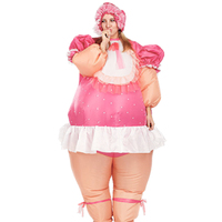 Cosplay Inflatable Costume For Women Fan Baby Cow Unicorn Funny Inflatable Costumes Halloween Dinosaur For Adults