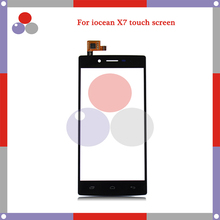 high Quality 5.0″For Iocean X7 Touch Screen Digitizer Sensor Front Glass Lens panel Free Tracking