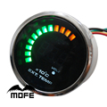 Original Logo 20PCS Analog LED Exhaust Gas Temperature Temp EGT 52mm Gauge With Sensor