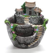 Succulent Plants Planter Flowerpot Resin Flower Pot Desktop