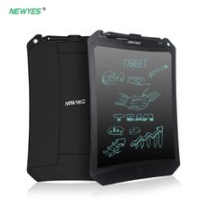 "NEWYES 8.5"" Robot LCD Writing Tablet Drawing Tablet Board Paperless Digital Notepad Rewritten Pad for Note Memo Remind Message(China)"