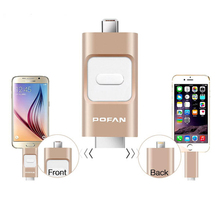 Storage Device Memory Stick USB Disk Micro USB 3.0 Flash Drive For iPhone 6 6 Plus ipad Android Phone PC Pen Drive16GB 32GB 64GB