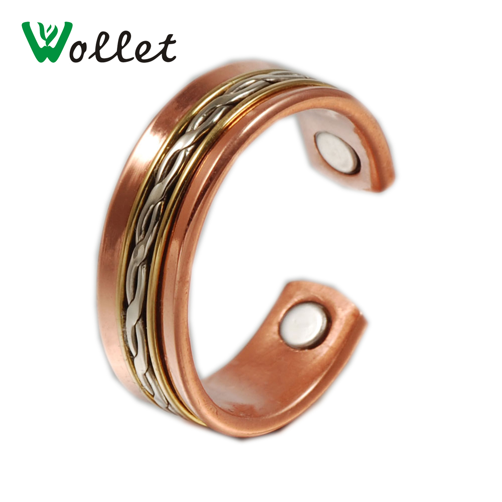 Aliexpress.com : Buy Wollet Magnetic Pure Copper Rings For