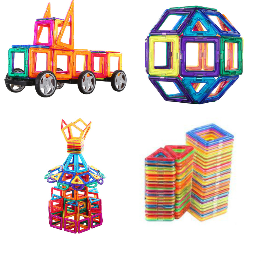 Hot 145pcs Amazing Kids Toys Magnetic Blocks Building Construction Blocks Toy Bricks Magnet Designer 3D Diy Toys For Boys Girls 148pcs set standard magnetic designer toys construction building blocks 3d educational diy magnet bricks for kids children toy