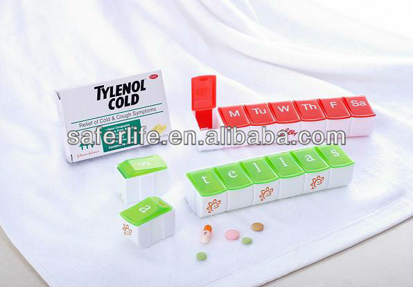 Первой помощи ttravel pill случае Bandaid коробка, Пластик Pill Box,