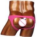 Jockstrap dos homens Sexy Mens Modal G-corda Thong Underwear Masculino Gay Sexo Presente Lingerie Baixo Crescimento Bulge bolsa Shorts Do Menino
