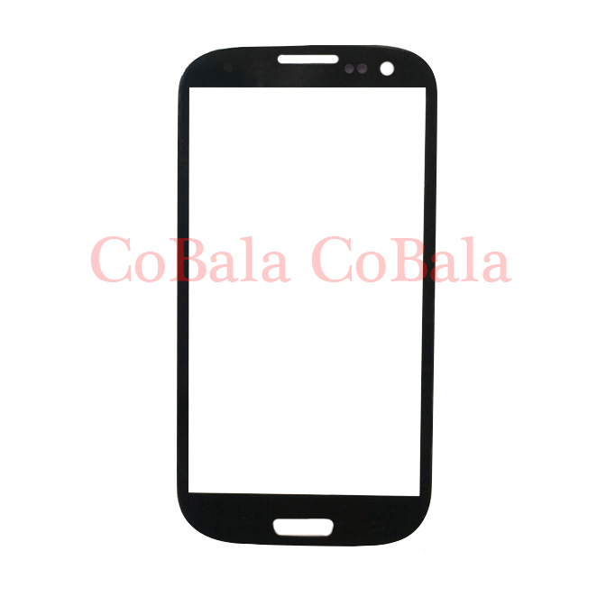 50Pcs White Dark Blue Brushed Blue Grey For Samsung Galaxy S3 Neo I9300I Front Glass 4.8 Touch Screen LCD Outer Panel Lens