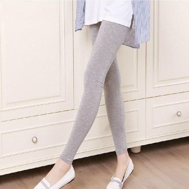 Весна и осень материнства брюки брюки осень материнства живота брюки упругие леггинсы шаг одежда мода для беременных осень