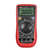 UNI T UT890C+ True RMS Digital Multimeter with C/F Temperature Capacitance Frequency Multi Meter Diode Tester