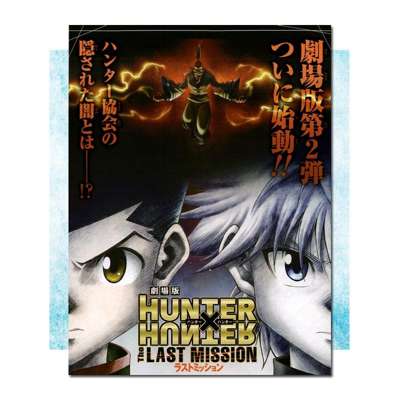 Hunter x Hunter Anime Art Silk Canvas Poster Print 13x20 24x36 inch