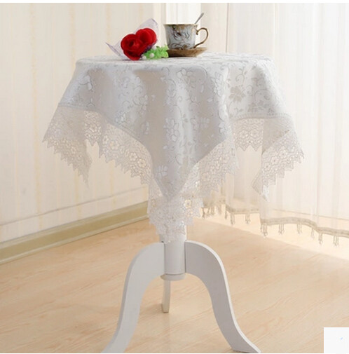 Nappe Carre Sur Table Ronde. Nappe Ronde Unie Cm Location With Nappe ...