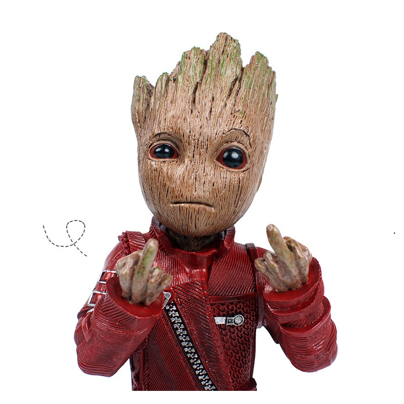(AOSST) Movie Guardians of the Galaxy Q version Treant Grootted Action figure PVC Doll Ornaments Toys Keychain Key Bag Gifts xinqite home furnishing ornaments product suspension globe round 3 inch 85mm blue english version of the spot