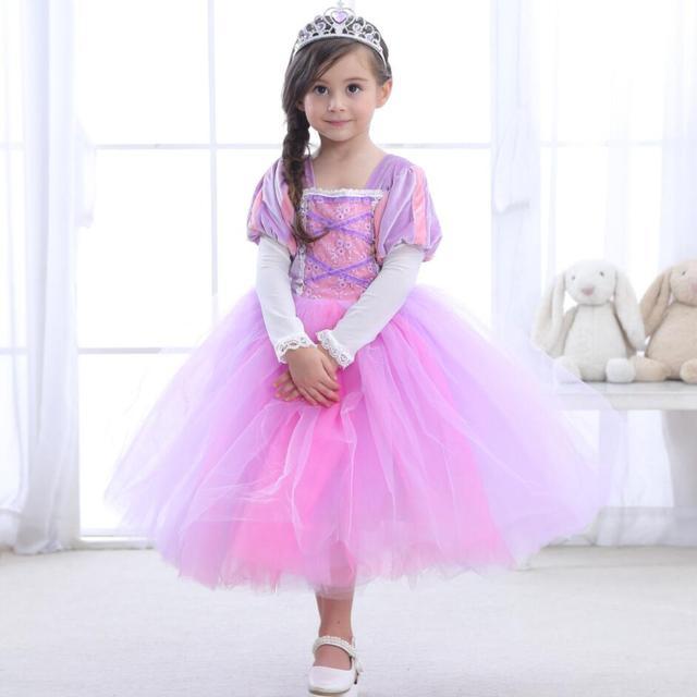 Neue Mädchen Prinzessin sofia kleider party Kinder Kleidung Für ...