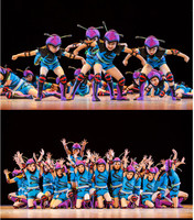 China Dance Costumes For Kids Ant Dance Costumes For Shows Boy Competition Gown Dance For Girls