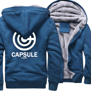 Sweatshirt for Men 2019 Hot Sale Thick Hoodie Print DRAGON BALL Anime Fashion Streetwear Fitness Men's Sportswear Hoodies Kpop(China)