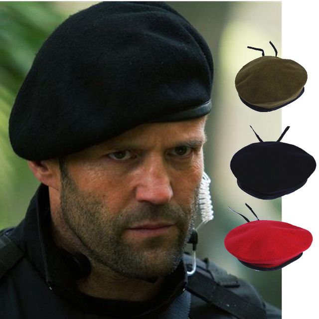 Winter Wool Hats For Men Beret Hat For Special Forces Soldiers Death Squads  Military Training Camp Hats 6885658a017