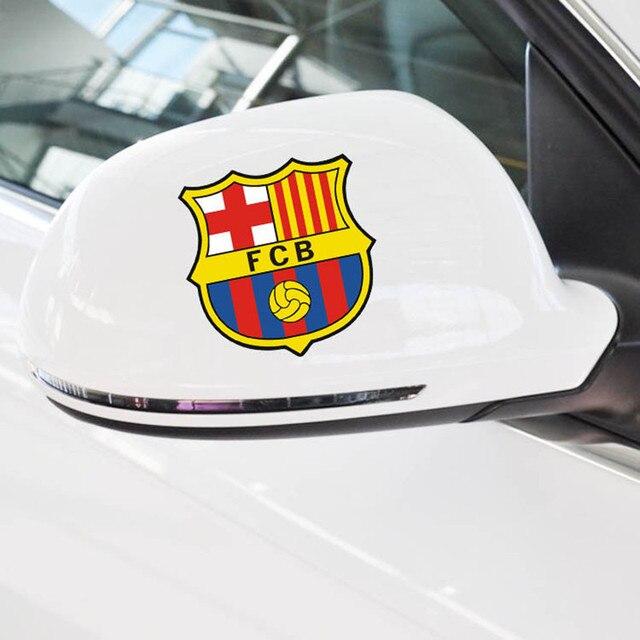 Us 365 Reflektierende Aufkleber Auto Aufkleber Spiegel Barcelona Auto Styling Autoaufkleber Euro Premium Fc Barcelona Logo Für Autos In