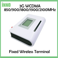 3G WCDMA Fixed Wireless Terminal 850 900 1800 1900 2100MHZ Support Alarm System PBX Clear Voice