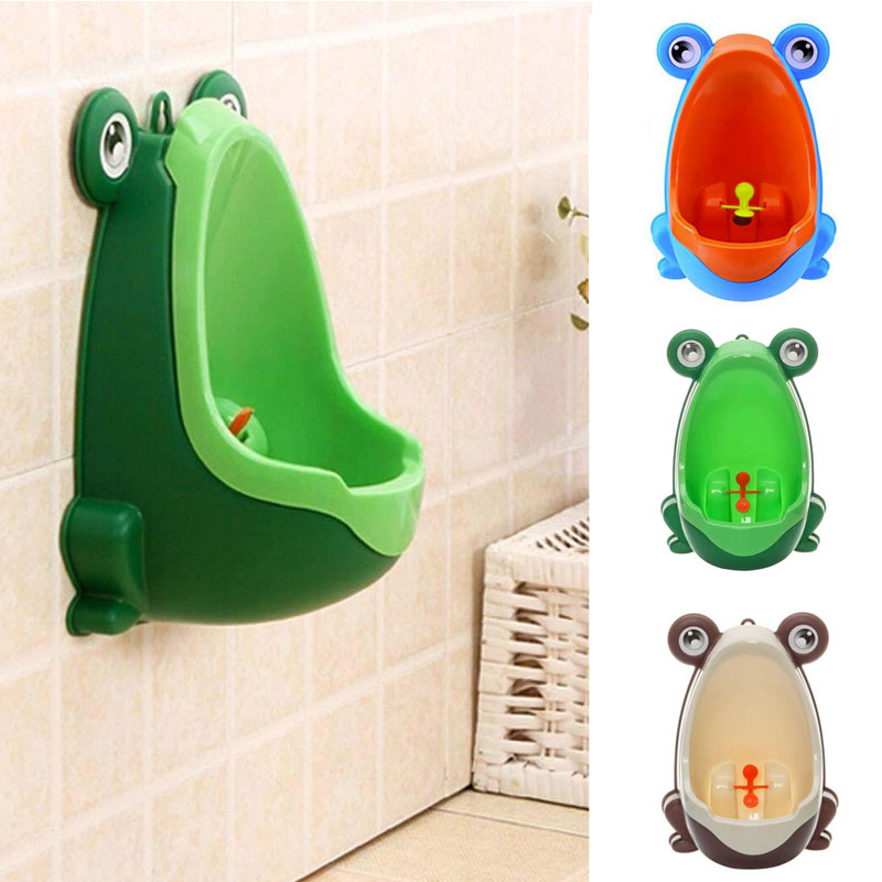 Permalink to Frog Children Potty Toilet Training Kid Urinal for kids Baby Boy Infant Pee Trainer Bathroom 0-9 years Sanitary Ware Suite AA