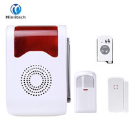Wireless Alarm Outdoor Flash Siren Sound Strobe Flash Alarm Siren For Wif GSM PSTN Home Security