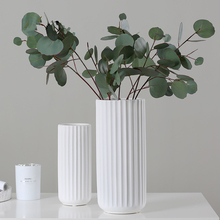 2019 New Arrival Matte White Ceramic Vases High Quality Nordic Style Desktop Furnishings Flower Pot Wedding&Home Decoration 35