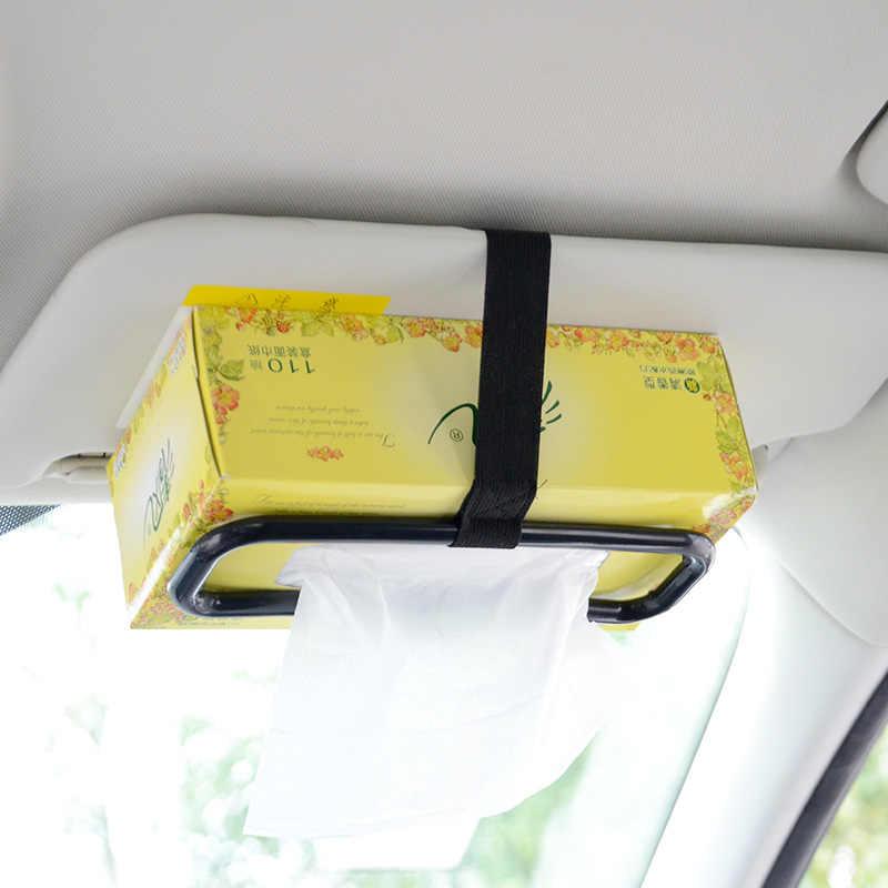 シートバックティッシュボックスホルダーユニバーサル紙車クリップファッションナプキンブラケットアクセサリー収納車のサンバ