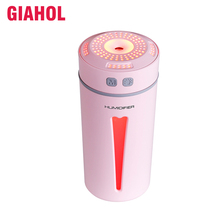 260ml Air Humidifier with LED Light Mini Super Mute Car USB Diffuser best for Home