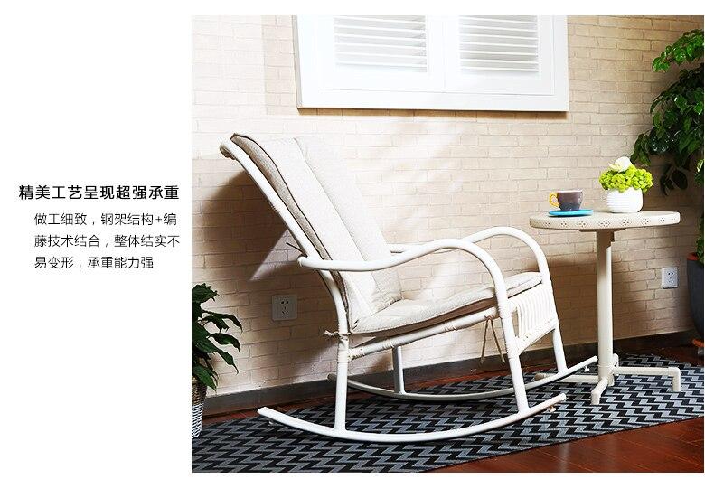 Schommelstoel Op Balkon : Handleiding cane schommelstoel de oude man zitkamer balkon