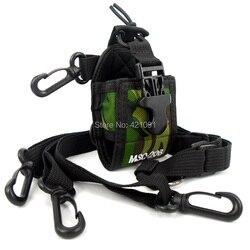 Camouflage Portable Protection Bag Case for Kenwood Yaesu Baofeng UV-5R BF-888S Walkie Talkie Two Way Radio