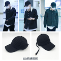 KPOP Bigbang GD airport style design long belt fashion hip-hop cap hat of street dance Sun hat baseball cap
