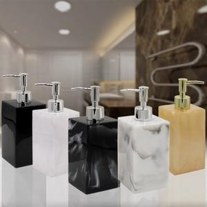 Image 1 - Resin hand sanitizer lotion bottle shower gel shampoo press bottle bathroom supplies portable soap bottle O002
