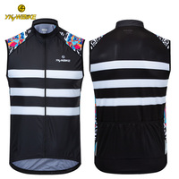 Cycling Safety Vest Jersey Man Bicycle Reflective Clothing Maillot Ciclismo Sleeveless Mountain Bike Cycling Gilet Windproof