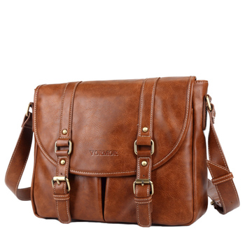 Leather Men Bag Casual Business Leather Mens Messenger Bag Fashion Men's Crossbody Bag 1