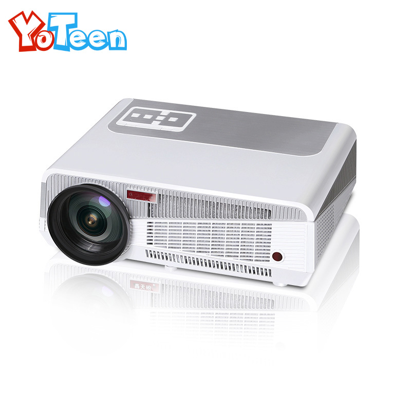 YOTEEN LED86+ 3000Lumens Projector 1280*800 3D Home Theater Video TV Beamer HDMI USB Full HD LED LCD Projector Outdoor Proyector