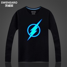 Naruto T Shirts Spring/autumn Glow-Shirts (19 styles)
