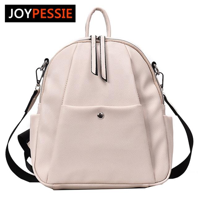Fashion Leather School backpack Female Women Pu Backpacks Teenager Mochila Feminina Backpack Rucksack Mochilas Mujer