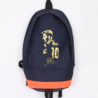 New Arrival Messi Canvas Backpack High Quality Men Women Laptop Backpack Large Capacity Travel Backpack Boy