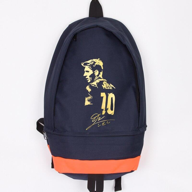 ახალი ჩამოსვლა Messi Canvas Backpack - ზურგჩანთა - ფოტო 1