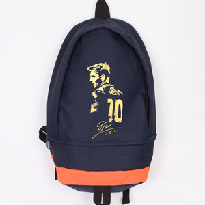 New Arrival Messi Canvas Backpack High Quality Men Women Laptop Backpack Large Capacity Travel Backpack Boy Girl School Bag