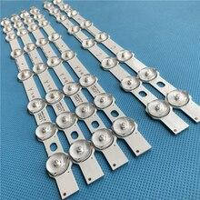 374mm 8 LED Lampe de Rétro Éclairage bande Pour Hitachi TÉLÉVISEUR 42 pouces Innotek 42FHD L NDV REV0.2 42HXT12U VES420UNDL N01 42HXT12U LED 42F7275