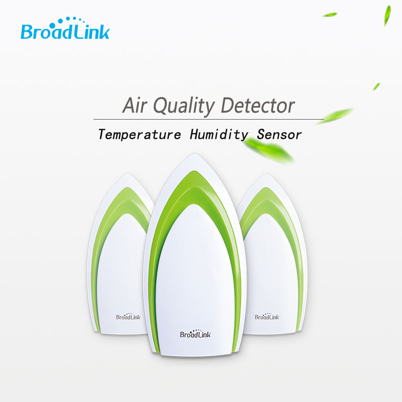 2017 Newest EU/US/UK Broadlink Air Smart Air Quatily Detector Air Humidity PM2.5,Smart Home Automation Wifi+IR Remote Controller цена