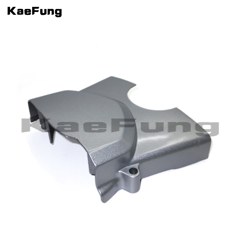 motorcycle parts zongshen loncin <font><b>lifan</b></font> <font><b>110cc</b></font> 125cc left <font><b>engine</b></font> cover chain front sprocket cover dirt pit monkey bike ATV QUAD image