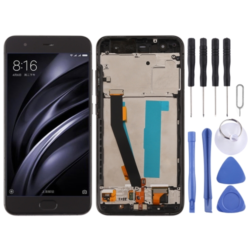 LCD Screen and Digitizer Full Assembly with Frame for Xiaomi Mi 6LCD Screen and Digitizer Full Assembly with Frame for Xiaomi Mi 6