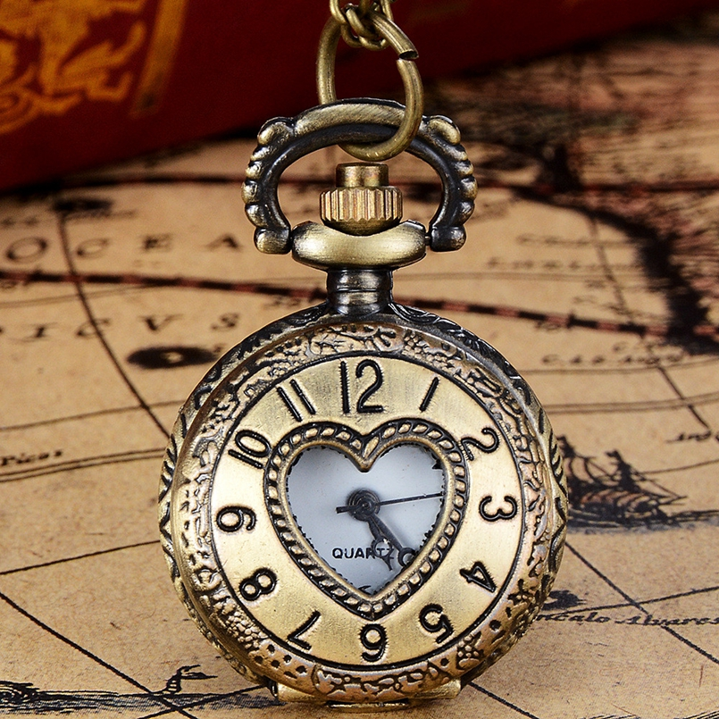 New Arrive Vintage Bronze Tone Spider Web Design Chain Pendant Mens Pocket Watch Gift Dropship s7