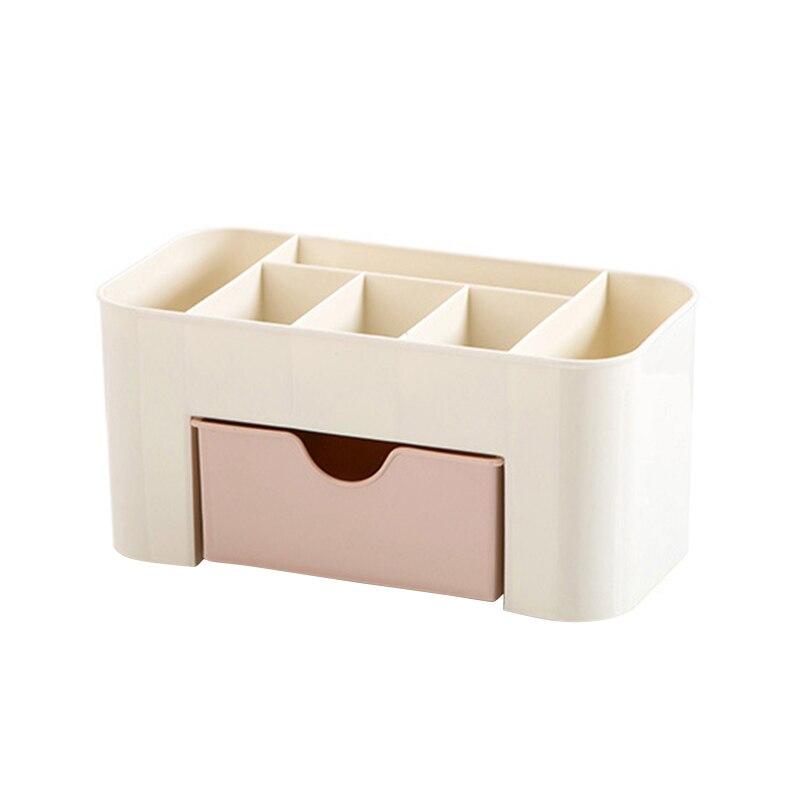 Пластик косметический ящик для хранения с небольшой ящик ювелирные разное многофункциональный настольный контейнер для хранения Организатор 2018ing