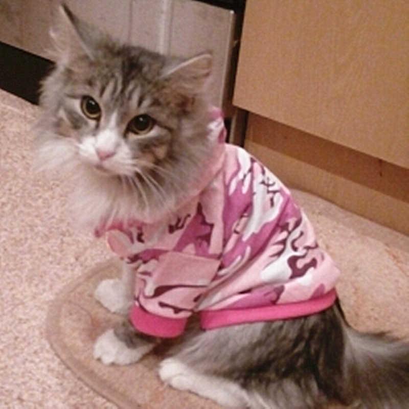 Ngụy trang Vật Nuôi Mèo Quần Áo Cho Mèo Nhỏ Áo Thời Trang Áo Khoác Vest Áo Khoác Quần Áo Vật Nuôi Thỏ Động Vật Vật Nuôi Cung Cấp 12b30S2