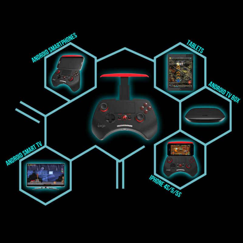 غمبد التحكم iPega 9028 PG-9028 سماعة لاسلكية تعمل بالبلوتوث لعبة جيم كيوب تحكم غمبد المقود vendedor ل فون و باد الروبوت