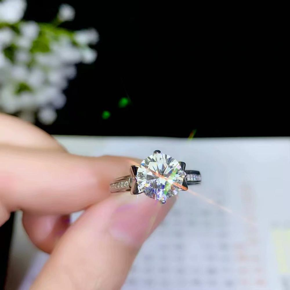 recommend: crackling moissanite gemstone ring for women jewelry gift  pouring in the sun 4recommend: crackling moissanite gemstone ring for women jewelry gift  pouring in the sun 4