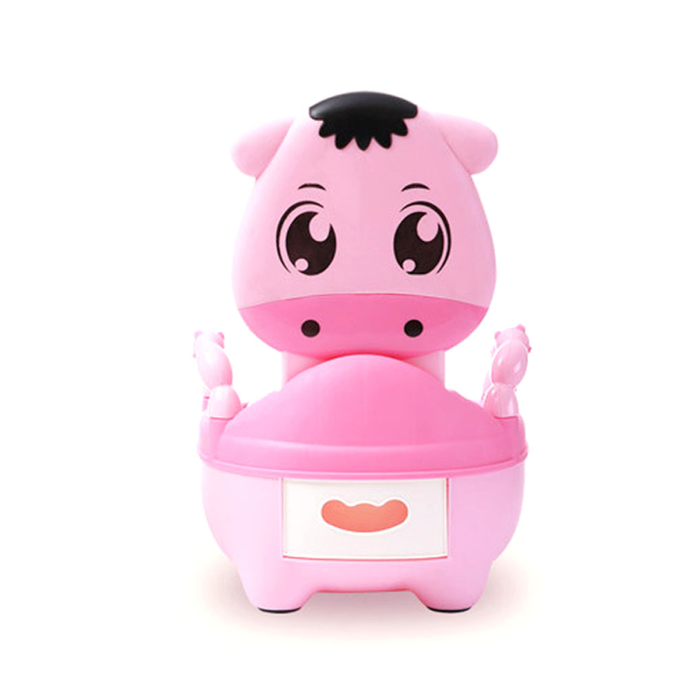 Children Baby Potty Training Cows Boy Girl Portable Toilet Seat Infant Potty Toilet Pot @ZJF hot sale lovely baby children toilet baby drawer type bedpan children urinal potty training baby toilet soft stable stool seat